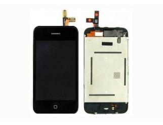 LCD Kompletteinheit mit Touchscreen und Frontscheibe für iPhone  3G