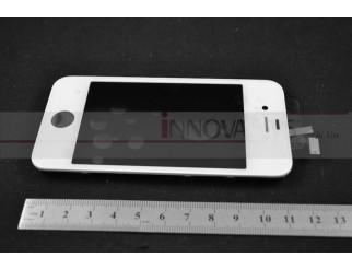 Display Einheit weiss, komplett für iPhone 4S