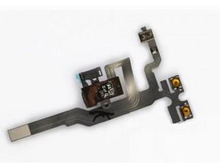 Kopfhörerbuchse mit Kabel für iPhone 4S schwarz