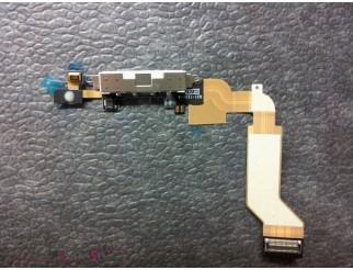 Docking Anschluss mit Kabel für iPhone 4S weiss