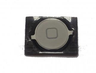 Home Button weiss für iPhone 4S mit Spacer (Gummidichtung)