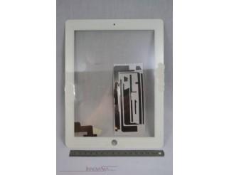 Frontscheibe + Touchscreen für iPad2, weiss
