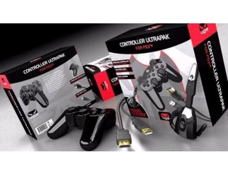Gioteck PS3 Controller Ultrapak mit Controller, Headset, HDMI