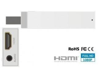 HDMI Converter Stick für Wii 720p 1080p Upscaler + ext. Klinkenbuchse