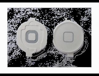 Home Button für iPad2/3/4, weiss mit Spacer (Gummilippe)
