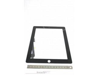 Frontscheibe + Touchscreen für iPad3 / iPad4, schwarz