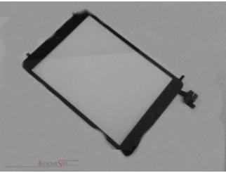 Frontscheibe + Touchscreen komplett für iPad Mini, schwarz. Kein Löten, mit Connector und Home Button flex