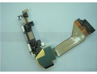 Docking Anschluss mit Kabel für iPhone 4 weiss