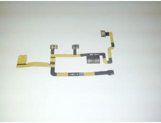 Power on/off und Volume (Lautstärkeregler) Kabel für iPad 2 (neue Version 2012, APN 821-1461-A)