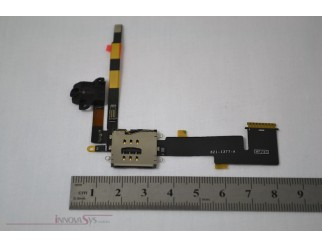Audio Jack Flex Kabel Kopfhörerbuchse + Card Reader für iPad2 3G