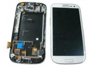 Display für Samsung Galaxy S3 (i9300) Touchscreen, LCD + Rahmen in weiss