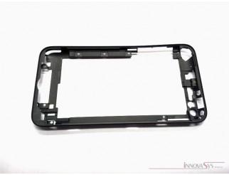 Mittelrahmen für Gehäuse iPod Touch 4 schwarz