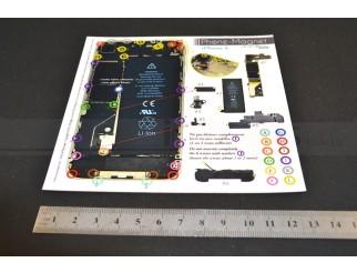 Phone-Magnet : Magnetische Profi-Schraubenaufbewahrung für iPhone 4