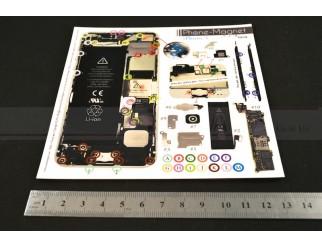 Phone-Magnet : Magnetische Profi-Schraubenaufbewahrung für iPhone 5