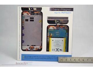 Phone-Magnet : Magnetische Profi-Schraubenaufbewahrung für iPod Touch 4G