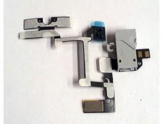Kopfhörerbuchse weiss mit Kabel für iPhone 4