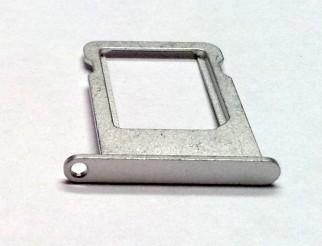 Nano Sim Kartenhalter silber für iPhone 5 (weiss)