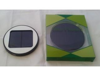 Solar Window Charger / Solar Ladegerät - schwarz