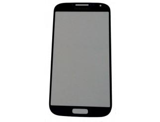 Frontscheibe für Samsung Galaxy S4 Mini i9190 +  i9195 LTE in schwarz / real black