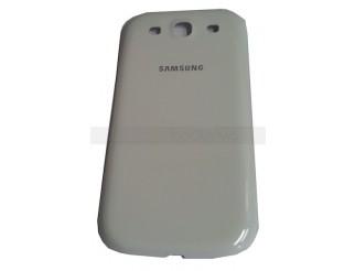 Akkudeckel / Batterie Abdeckung in weiss für Samsung Galaxy S3 i9300 +  i9305