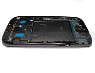 Frontrahmen für Samsung Galaxy S3  i9300 in silber