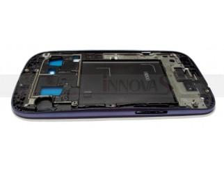 Frontrahmen für Samsung Galaxy S3  i9300 in blau