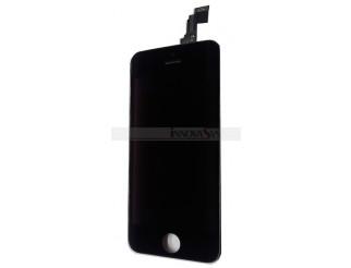 Retina Display Einheit schwarz komplett für iPhone 5C