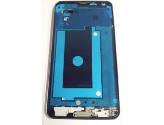 Frontrahmen für Samsung Galaxy Note 3  N9005 in silber