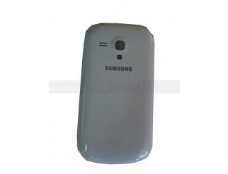 Akkudeckel / Batterie Abdeckung in weiss für Samsung Galaxy S3 Mini i8190 + i8195