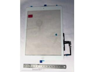 Frontscheibe + Touchscreen für iPad Air, weiss