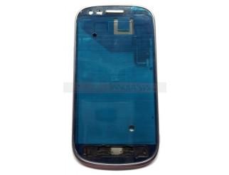 Frontrahmen für Samsung Galaxy S3 Mini i8190 in silber