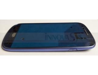 Frontrahmen für Samsung Galaxy S3 Mini i8190 in blau