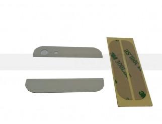 Backcover Glas Abdeckung oben/unten für iPhone 5 weiss