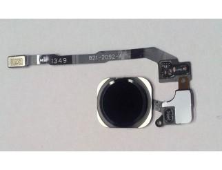 Home Button für iPhone 5S/SE mit Fingerprint-Sensor, schwarz
