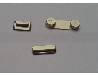 Button Set (Lautstärke, Stummschaltung, Powerknopf) gold für goldenes iPhone 5S