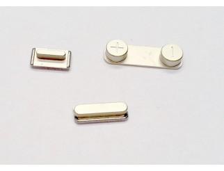 Button Set gold für goldenes iPhone 5S/SE (Lautstärke, Stummschaltung, Powerknopf)