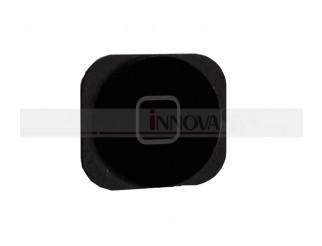 Home Button schwarz mit Gummidichtung für iPhone 5C