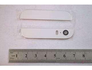 Backcover Glas Abdeckung oben/unten für iPhone 5S weiss