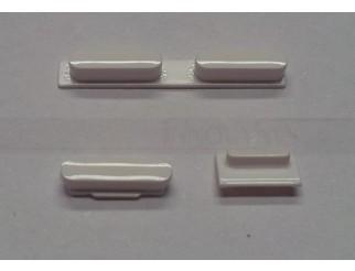 Button Set in weiss (Lautstärke, Stummschaltung, Powerknopf) für iPhone 5C