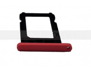 Nano Sim Kartenhalter für iPhone 5C rot