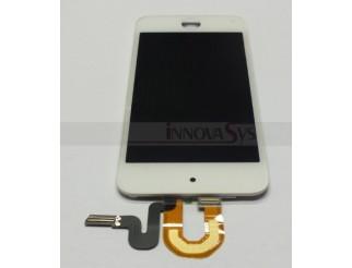 Display-Einheit (Frontscheibe, LCD, Touchscreen) für iPod Touch 5G weiss