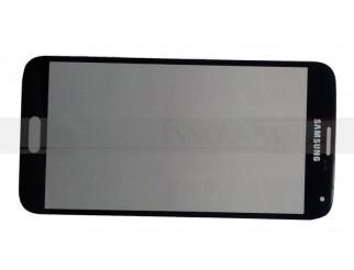 Frontscheibe für Samsung Galaxy S5 i9600 schwarz
