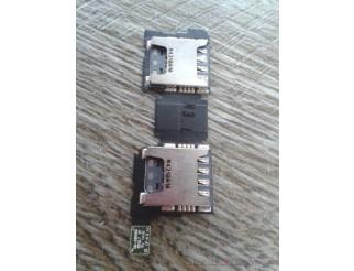 Sim Kartenleser double für SAMSUNG GALAXY S5 Duos G9009D
