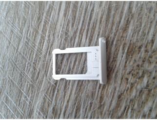 Sim Kartenhalter / Tray / Schlitten silber für iPad Mini 1/2/3 weiss