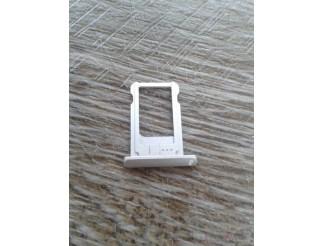 Sim Kartenhalter / Tray / Schlitten silber für iPad Mini weiss