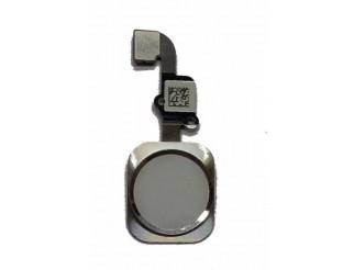 Home Button mit Flex und Fingersensor, weiss für iPhone 6