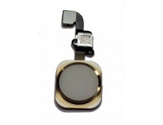 Home Button mit Flex und Fingersensor, gold für iPhone 6