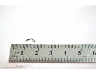 Pentalobe Schrauben für Backcover iPhone 6/6+ grau, Set mit 2 Stück