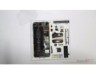 Phone-Magnet : Magnetische Profi-Schraubenaufbewahrung für iPhone 5C