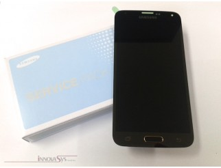 Original Display für Samsung Galaxy S5 (GH97-15959D) Touchscreen, LCD in gold